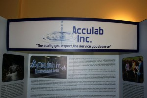 Acculab display, Acculab is committed